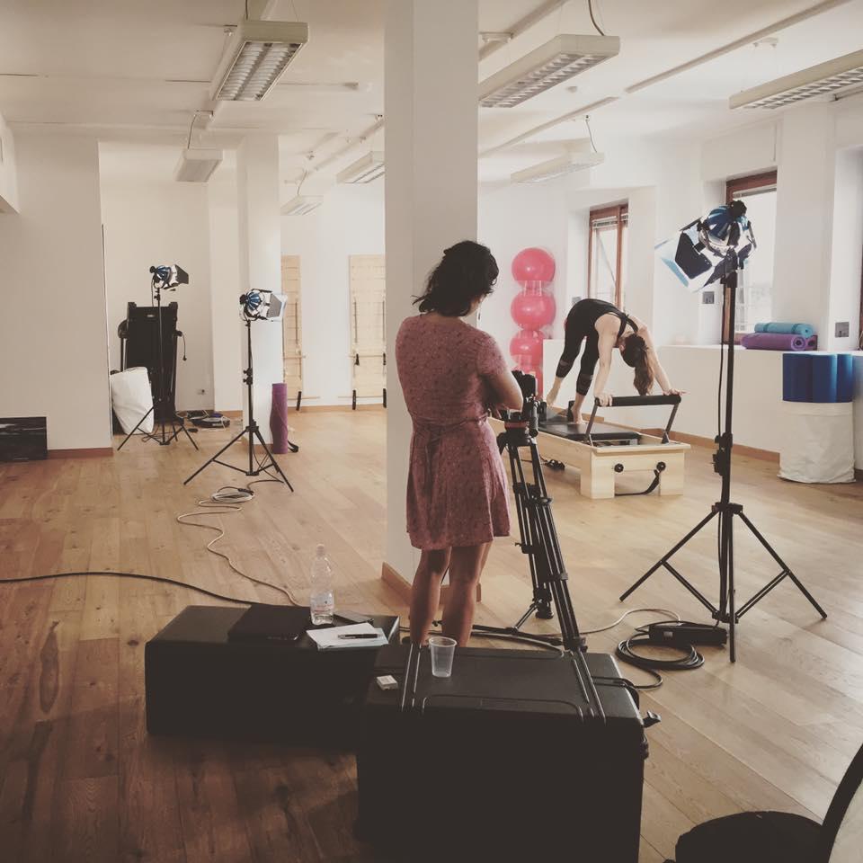 Produzione Video Pilates Milano