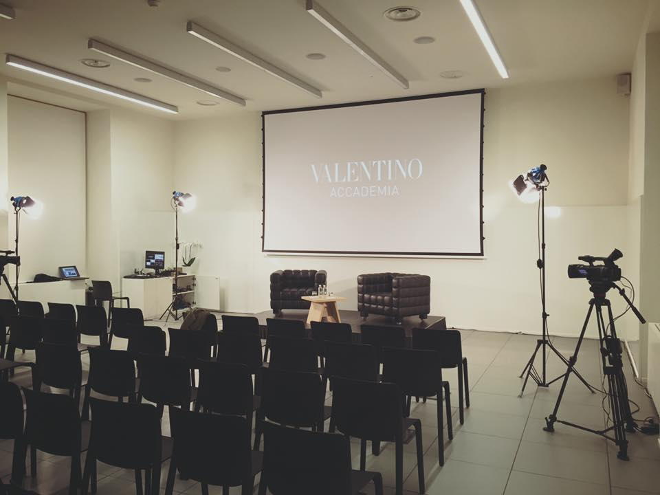 Livestreaming Valentino MIlano